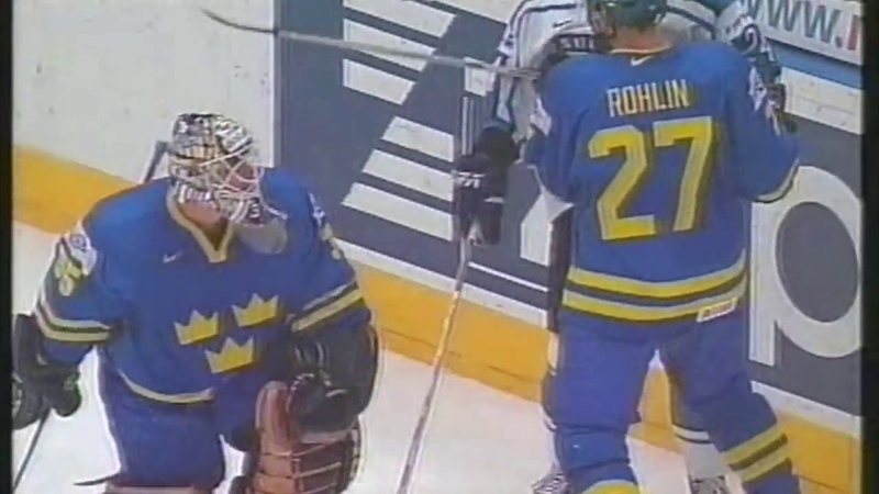 Ice Hockey 2001 WC Finland-Sweden Highlights