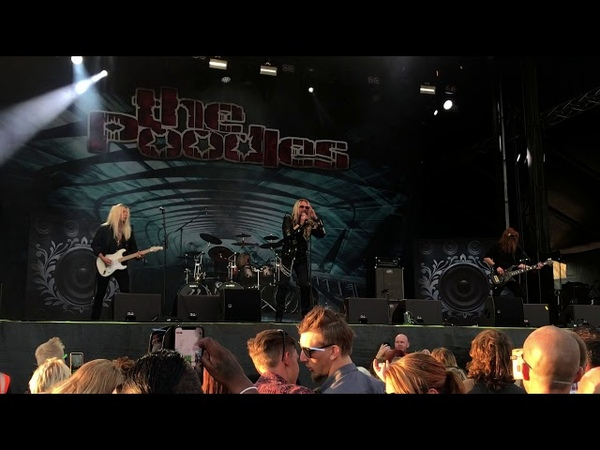 The Poodles Live at Sommarrock 2018 Full show