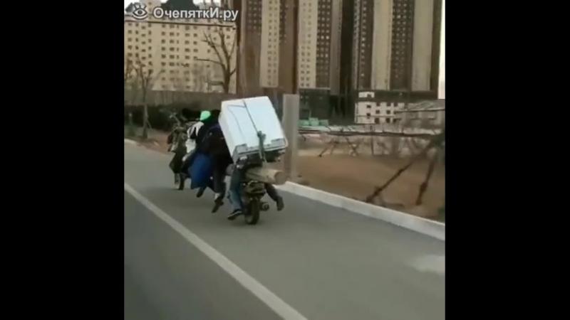 Мотоцикл-маршрутка.mp4