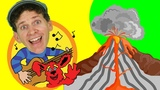 Learn About Volcanoes Song for Kids Sing Along with Matt Learn English Kids