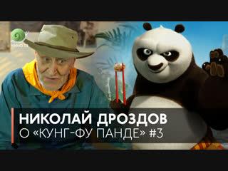 Николай Дроздов на Кино ТВ — Белая панда («Кунг-фу Панда»)