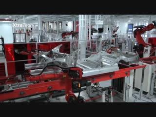 Производство автомобилей tesla