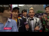 [RUS SUB] BTS Tells Frankie Grande How Much They Train, Who Theyre Excited To Meet At Billboard Music Awards!