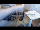Плетение из лозы Непрямая трансляция плетем Талию рабочая обстановка Wickerwork