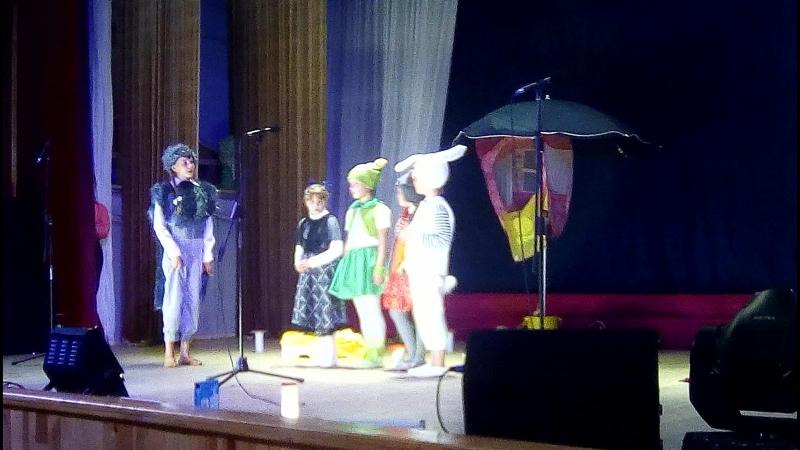 Наш спектакль Теремок на сцене ДК Сибирь с Батама