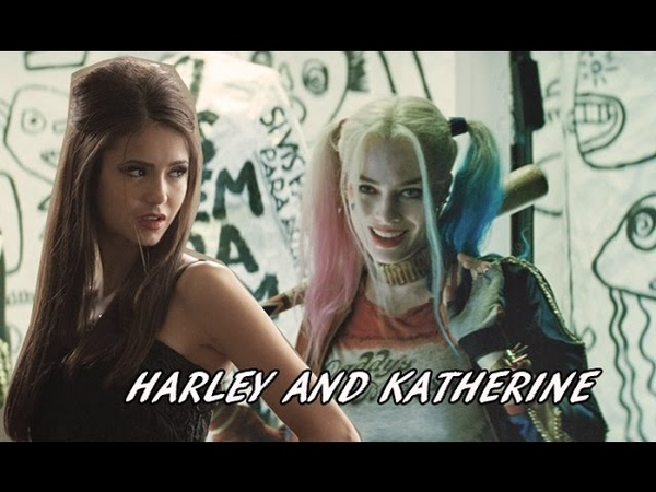 Harley Quinn and Katherine Pierce (SS and TVD crossover)