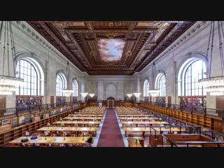 Time lapse_ thousands of books get reshelved before the rose main reading room reopens