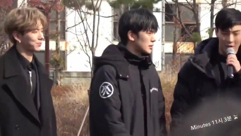 [VK][171125] MONSTA X (Minhyuk focus) @ Music Core mini fanmeeting