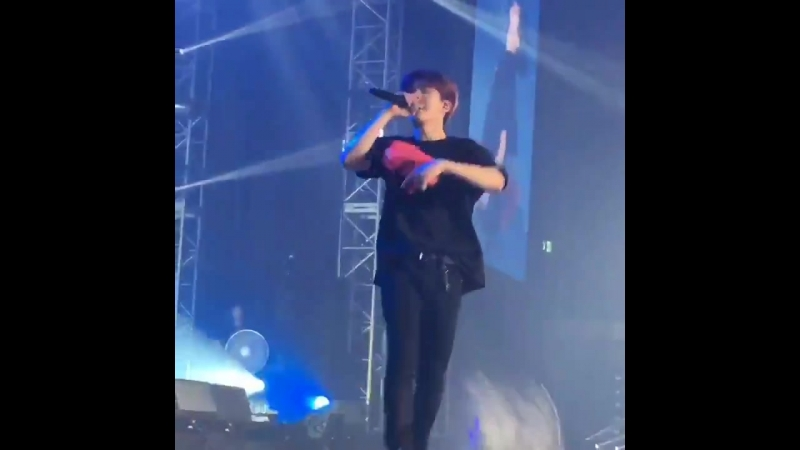 [VK][180527] MONSTA X fancam - Fallin' (Kihyun focus) @ The 2nd World Tour: The Connect in Seoul D-2