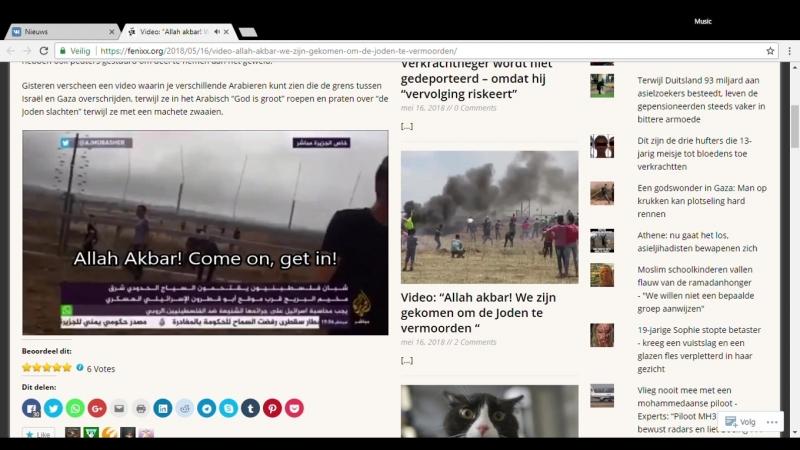 """Video_ """"Allah akbar! We zijn gekomen om de Joden te vermoorden """" - Google Chrome 16-5-2018 15_44_41"""
