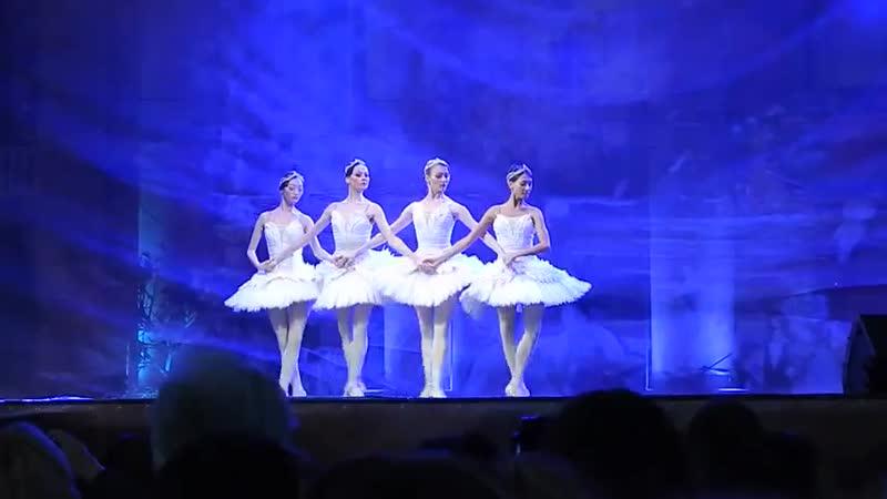 V маленьких лебедей Отрывок из балета Лебединое озеро г Ставрополь