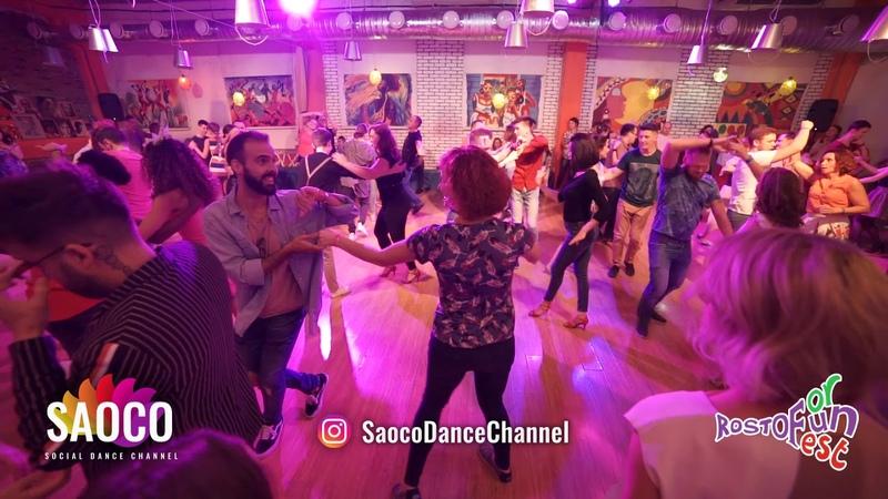 Samuel Funflow and Mariya Gavrikova Salsa Dancing at Rostov For Fun Fest 2018, Fri 02.11.2018 (SC)