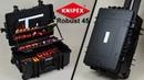 Knipex Werkzeugkoffer Robust 45 und Werkzeuge Review Vorstellung
