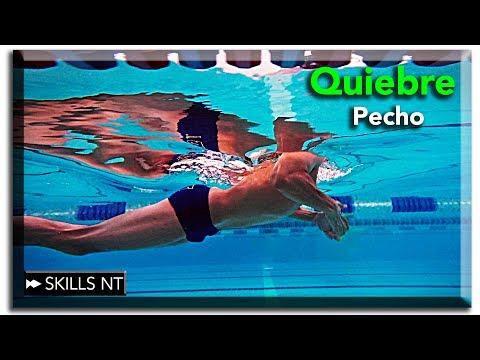 Como nadar mas rápido estilo de pecho / braza con un buen quiebre del agua