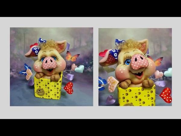 Приглашаю всех на мастер-класс по созданию куклы свинка-сюрприз!