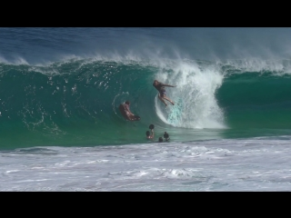 SHOREBREAK MADNESS - PART 2 - Clark Little JOB Andre Botha JMV