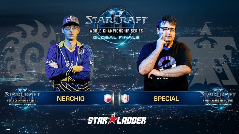 2018 WCS Global Finals Ro16, Group D, Losers Match: Nerchio (Z) vs SpeCial (T)