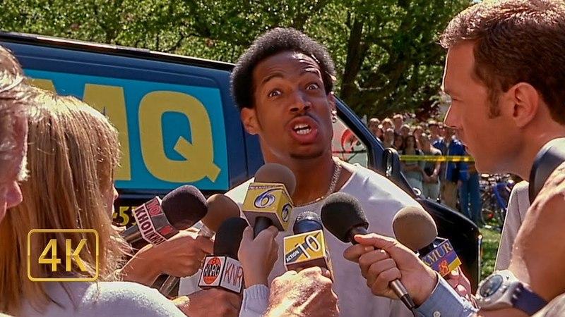 Беги сука беги Репортёры берут интервью у мелкого Очень страшное кино 2000