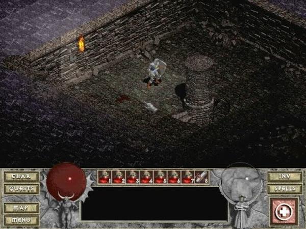 Взгляд в прошлое Выпуск 22 Diablo Зал слепоты 9