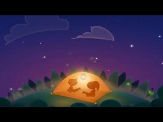 Сказка для детей СПОКОЙНОЙ НОЧИ ЛЕСНЫЕ ЖИВОТНЫЕ. Сказки перед сном на канале Нос
