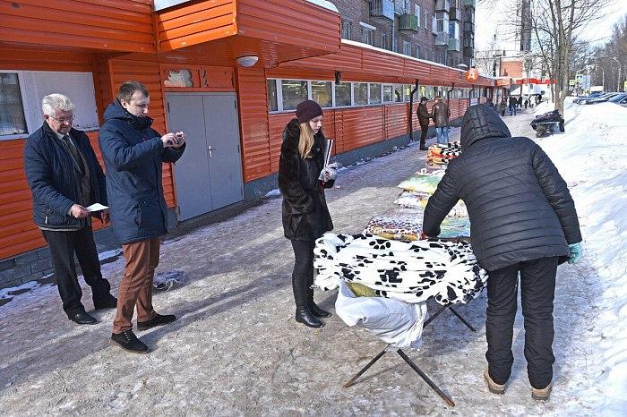 В понедельник 19 марта на Липовой горе состоялся рейд по несанкционированной торговле