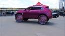 Гипер кастомайзинг Hi Risers огромные колеса в стиле Donks Box Bubbles