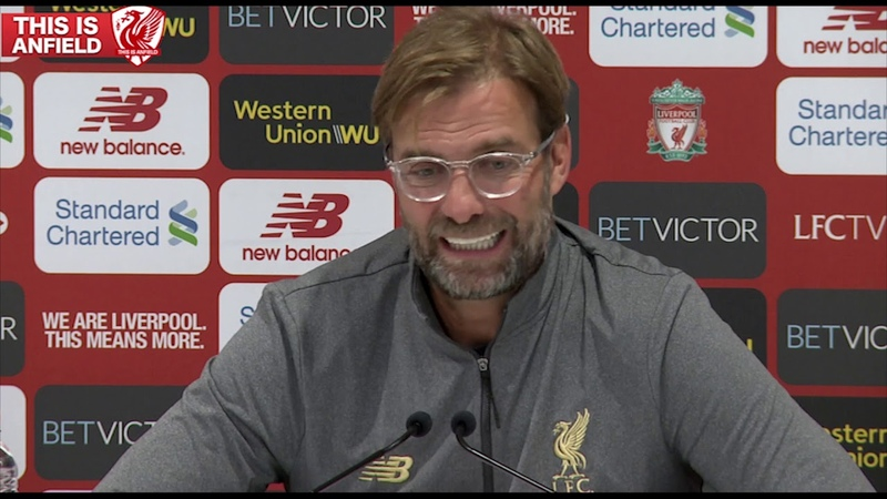 Liverpool 3 0 Southampton Jurgen Klopp Post Match Press Conference
