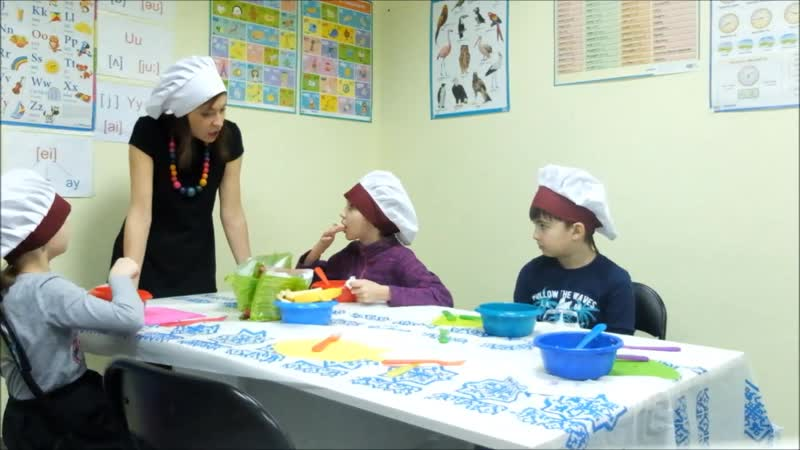 Cooking club (only English zone)
