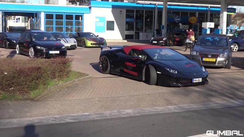 BRUTAL Lamborghini Huracan Spyder LEVELLA X Pipe Exhaust
