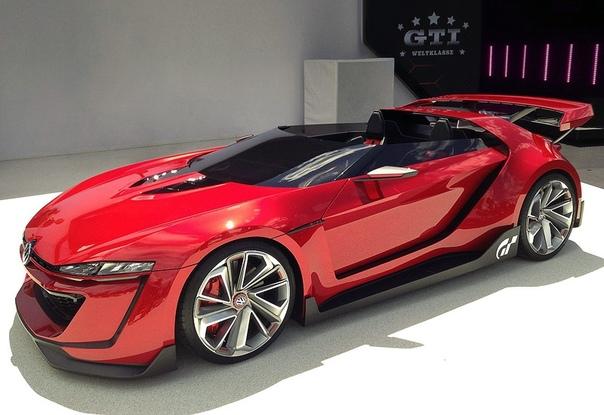 Volswagen GTI Roadster Vision Gran Turismo 2014 Двигатель: 3.0 VR6 TSI с двумя турбонагнетателямиМощность: 503 л.с. Крутящий момент: 665 Нм Трансмиссия: Робот DSG 7 ступ. Макс. скорость: 306