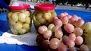 Консервированный виноград на зиму рецепт приготовления