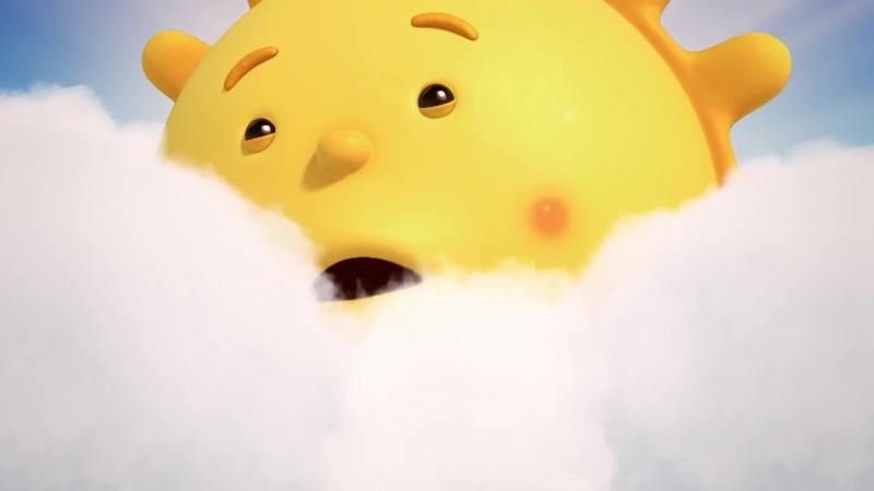 Облачата ⭐☁ ☀–Собственный закат солнца – Развивающие мультики[Full HD,1920x1080]