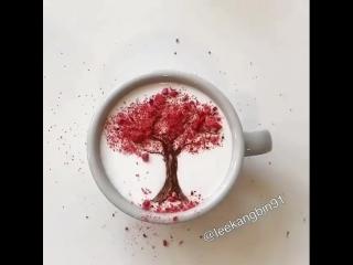 Латте арт: учимся рисовать на кофе