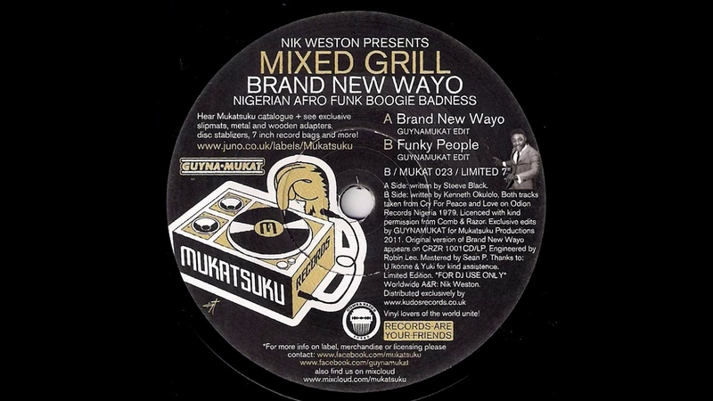 Mixed Grill - Funky People Guynamukat edit [Mukatsuku] 1979 Afro Funk Boogie 45