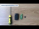 How to install the Peugeot Citroen remote key