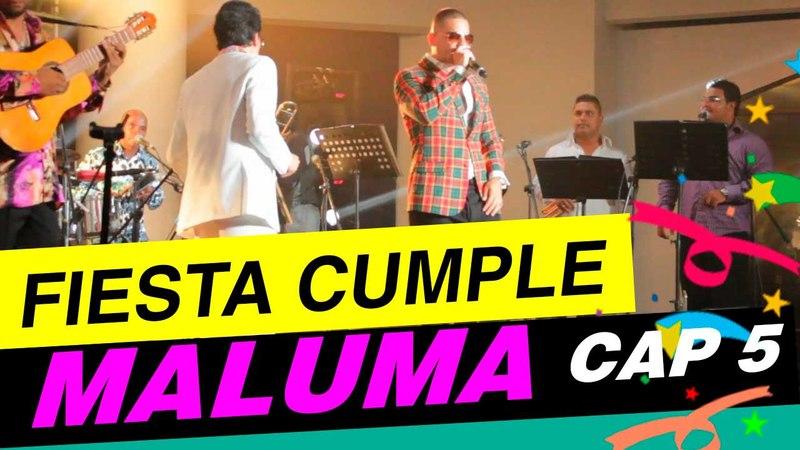 Fiesta de Cumpleaños de MALUMA Exclusiva Wazza y Maluma Cap 5