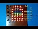 Battery level indicator using trassistors , Amazing science project for education