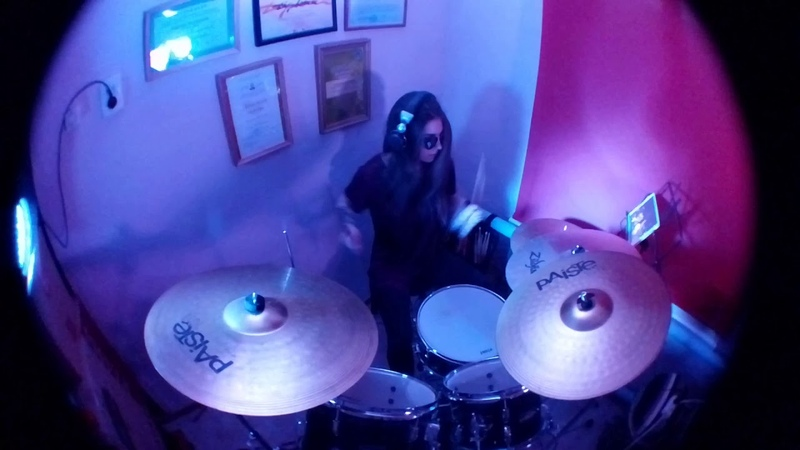 Paramore -Monster (drum cover by Christen Russo)