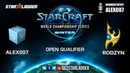 2019 WCS Winter Open Qualifier 1 Match 2: Alex007 (R) vs Rodzyn (P)