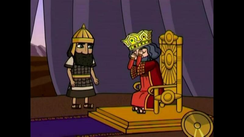 Истории Ветхого Завета 24 из 37 Давид и Авессалом