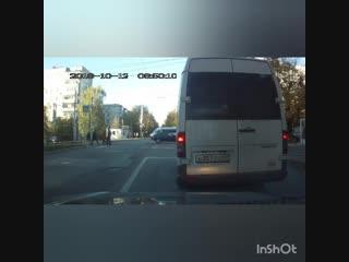 Троллейбус VS ВАЗ 2107