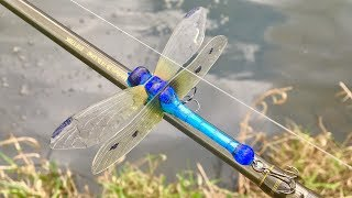 Making a Dragonfly Lure