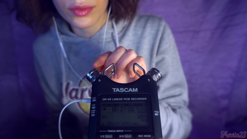 ASMR ✨ New Mic TEST ✨ TASCAM DR-40 10 Triggers, No Talking