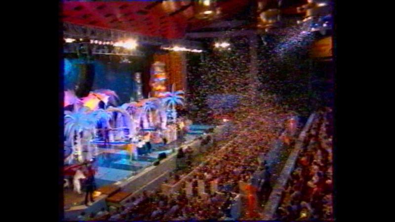 Окончание Умора-2005, анонс Новогоднего вечера с Максимом Галкиным и начало Что? Где? Когда? (Первый канал, 24 декабря 2005)