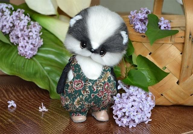 Милые игрушки от Ани Турченко.