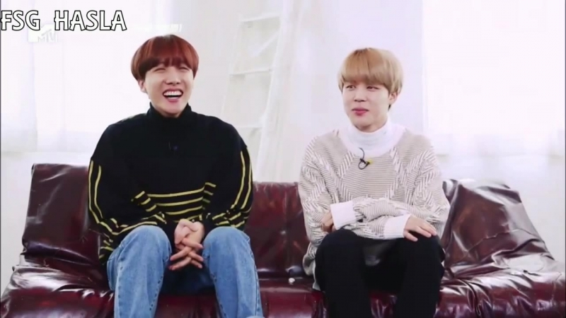 [RUS SUB][180403] MTV Select 10 BTS J-Hope Jimin