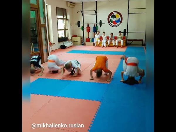 Karate for kids/Karate training/Каратэ для детей/Тренировка KARATE CLUB SKIF