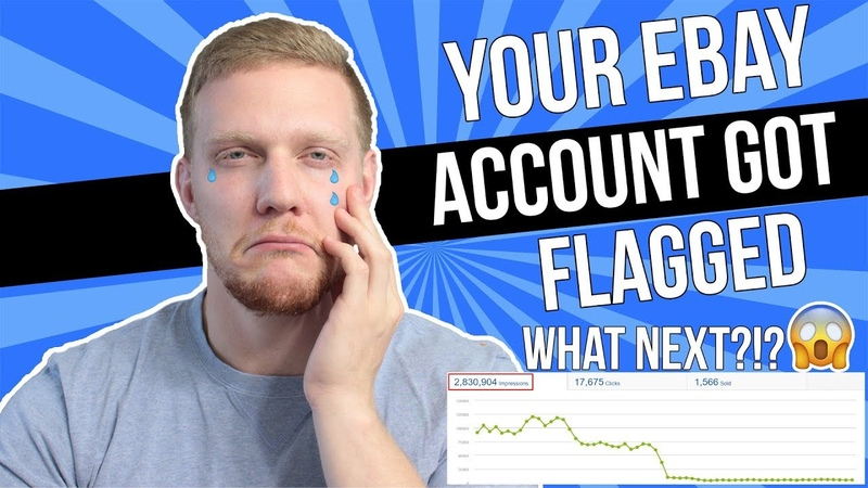 You ARE Flagged by Ebay - What Are You Going To Do About It | Manual Ebay Dropshipping 2019