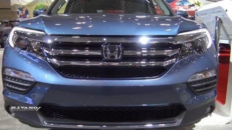 2018 Honda Pilot Touring AWD - Exterior And Interior Walkaround