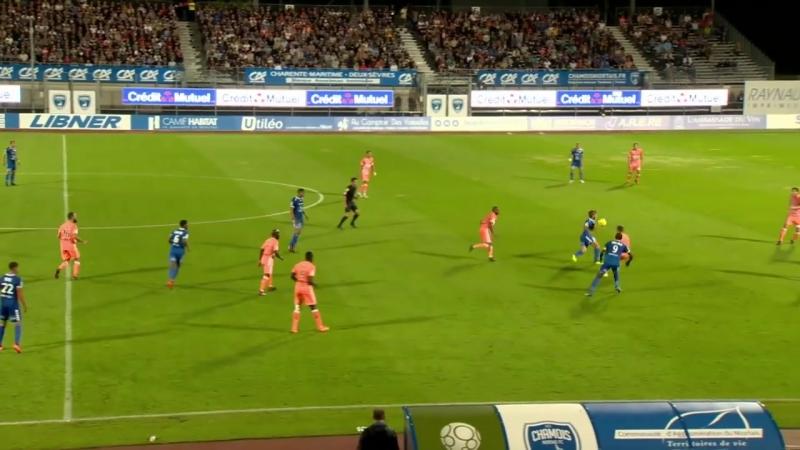 Chamois Niortais - AC Ajaccio ( 2-0 ) - Résumé - (CNFC - ACA) _ 2018-19